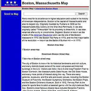 Boston Map and Business Directory