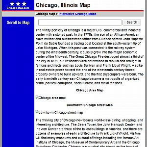 Chicago Map and Business Directory