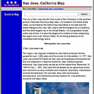San Jose Map and Business Directory