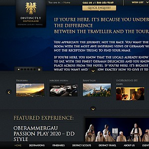Luxury personalised tours of Germany