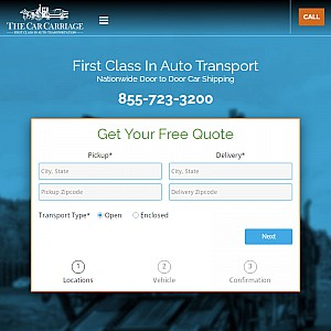 The Car Carriage - Nationwide Door-to-Door Auto Transport