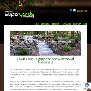Superyards - Calgary Lawn Care and Snow Removal