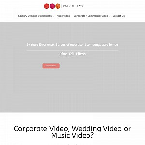Calgary Videography - Ring Tail Films