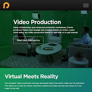 Provis Media Group – Animated Video Production