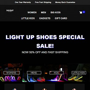 Bright LED Shoes - Buy Light Up Shoes