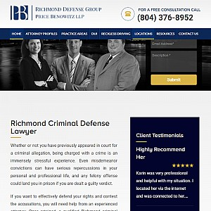 The Richmond Defense Firm