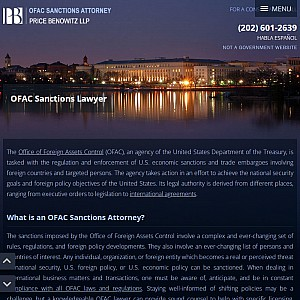 OFAC Lawyer Oliver Krischik