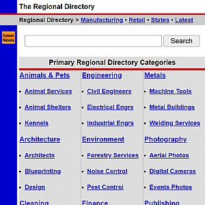 Regional Directory - United States Directory