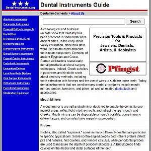 Dental Instrument Guide