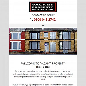 Protect Vacant Property