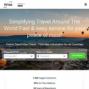 iVisa - eVisa and tourist visa processing