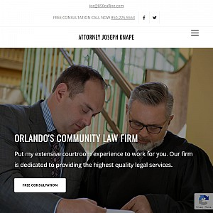 The 850 CALL JOE Law Firm, Orlando Florida