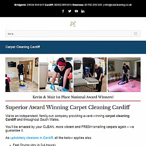 CSB Carpet Cleaning Cardiff - Professional Advanced Technicians