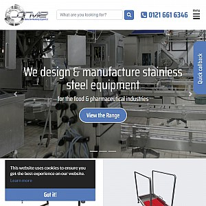 Stainless Steel Manufacturing & Equipment