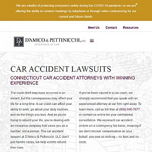 Car accident attorneys, Waterbury, CT