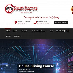 Derek Brown' s Academy of Driving - Calgary Driving School