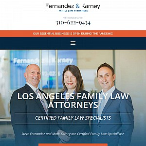 Los Angeles Family Law Attorney - Fernandez & Karney