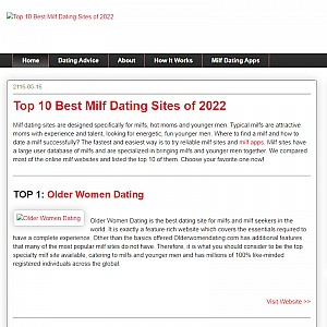 Top 10 Milf Dating Sites Reviews