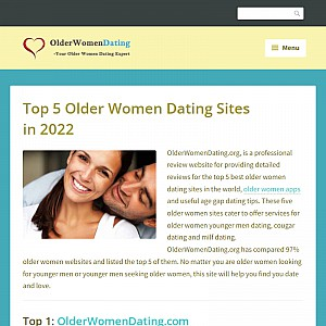 Best Older Women Dating Sites Reviews