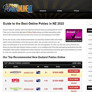 Online Pokies NZ - Real Money Pokies Games Online