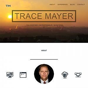 Who Is Trace Mayer?