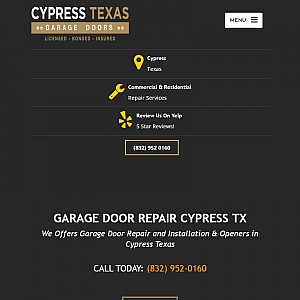 Garage Door Repair Cypress TX