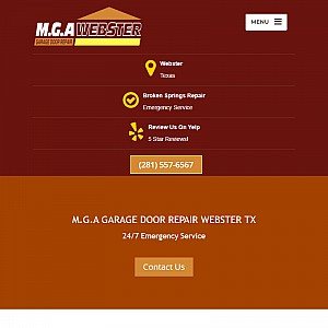 Garage Door Repair Webster