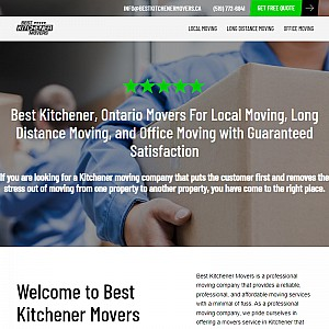 Movers Kitchener