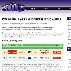Play Online Betting New Zealand