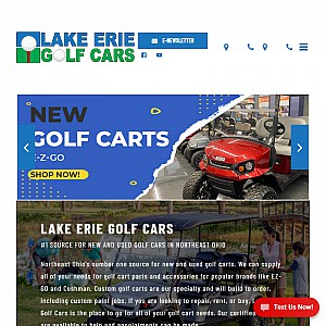 Lake Erie Golf Cars