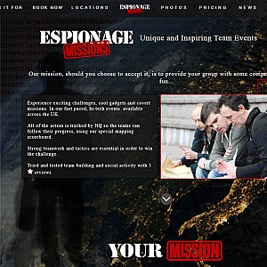Espionage Missions team building