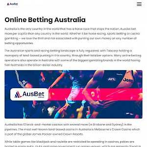 Online Sports Betting Australia