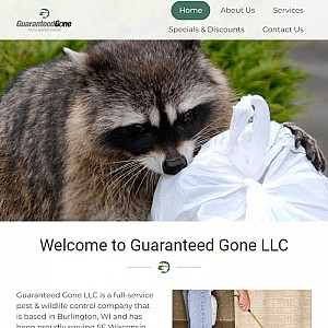 Guaranteed Gone is the most respected wildlife control in Burlington.