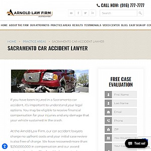 Sacramento car accident attorneys