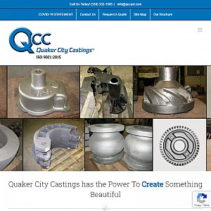 Quaker City Castings | Foundry | Iron & Steel Casting Manufacturers