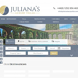 Juliana's Luxury Villas - Luxury holiday villa rentals