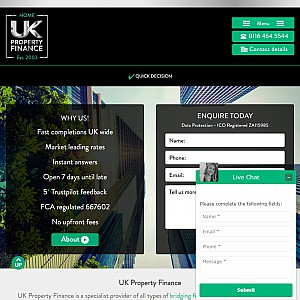 UK Property Finance