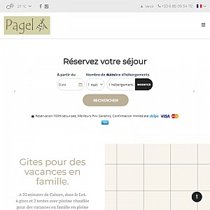 Pagel - Child Friendly Holidays in France