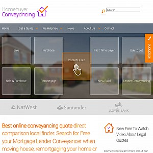 Compare Homebuyer Conveyancing Quotes Online For Your Move Or Remortgage.