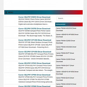 Canon Printer Download