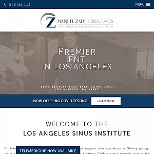 ENT Doctor Los Angeles - Dr. Mani Zadeh