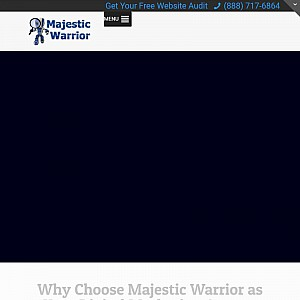 Majestic Warrior Local Visibility