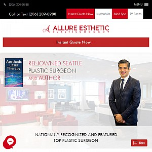 Top Plastic Surgeon in Seattle | Dr. Javad Sajan