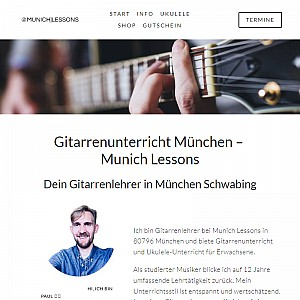 Munich Lessons – guitar and ukulele lessons in Munich, Germany