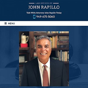 Law Offices of John Rapillo | Orange County Injury Attorney