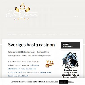Online casino - ElitCasinon.com