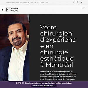 Cosmetic Surgeon in Montreal – Dr. Nabil Fanous Clinic