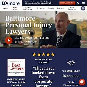 D'Amore Personal Injury Law, LLC.