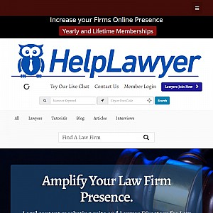 Law Firm Directory and Legal Marketing Suite