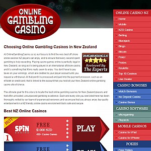 Online Gambling Casino NZ